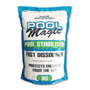 Fast Dissolving Stabiliser Pool Supplies