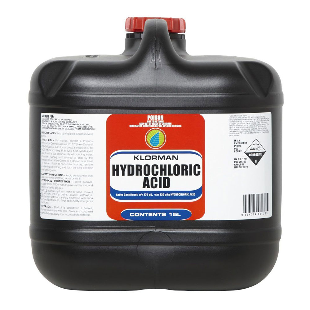Pool magic hydrochloric acid 32 pool services adelaide pool maintenance pool cleaning for Hydrochloric acid used in swimming pools
