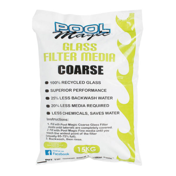 Filter Glass Coarse Pool Supplies