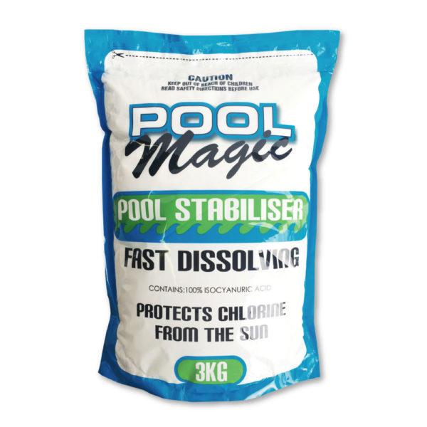 Fast Dissolving Stabiliser Pool Supplies